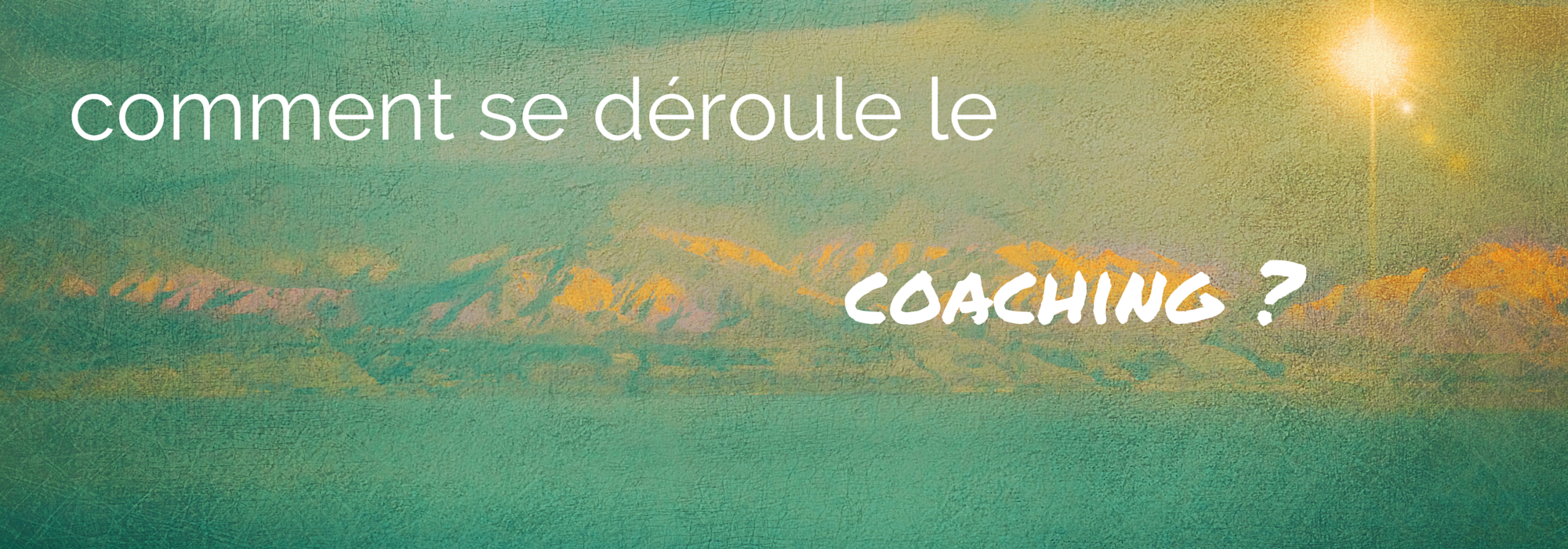 stress coaching de vie